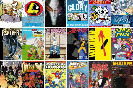 Comics: My ridiculously late 100 Things I Love About Comics