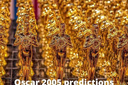 Cinema: Oscar Predictions – my futile attempt