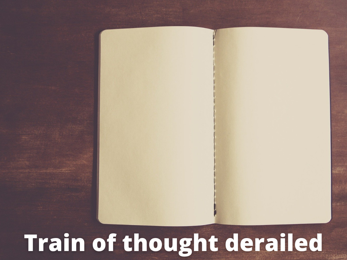 You are currently viewing Train of Thought Derailed