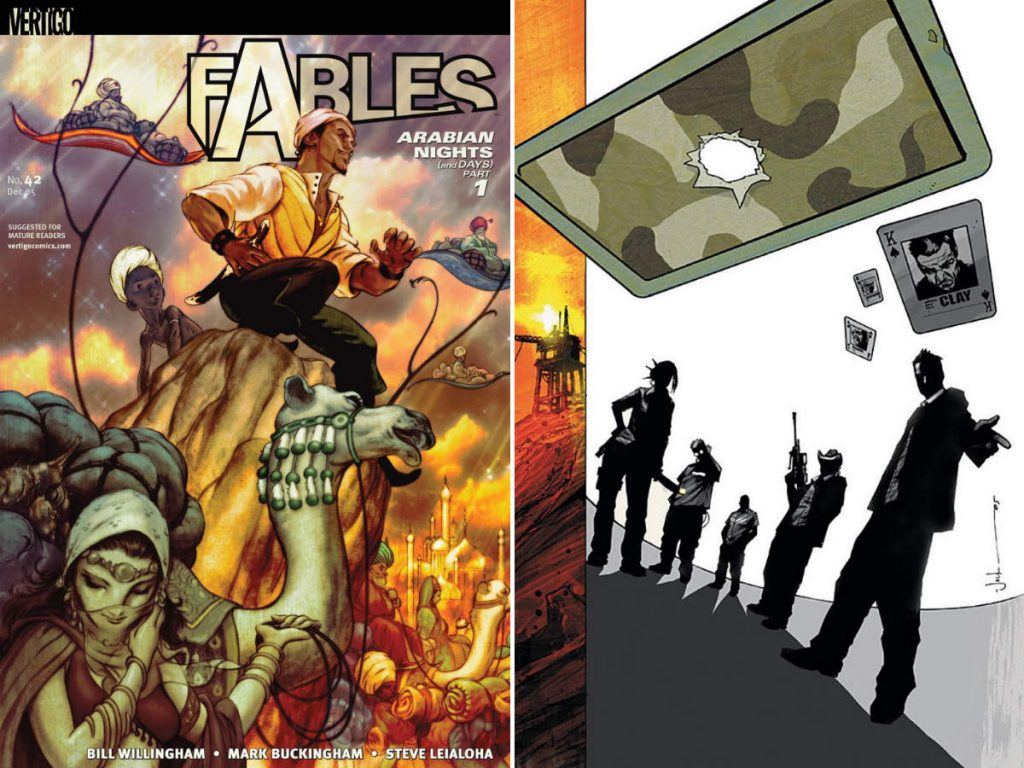 Fables #42 and The Losers #29
