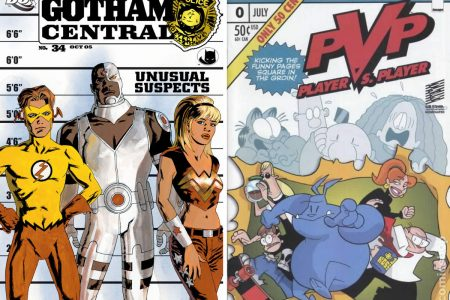 Another Comics Round-up