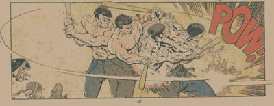 Uncanny X-Men #201 panel of Colossus