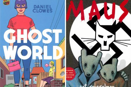 Reviews from a library: Ghost World and Maus