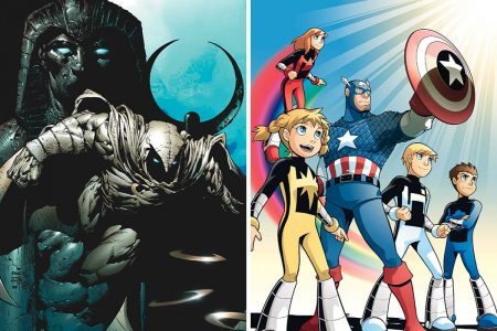 Marvel solicitations for April