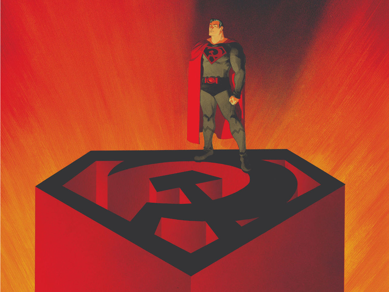 From A Library – Superman: Red Son