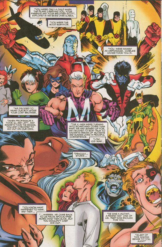 Mutant X history page