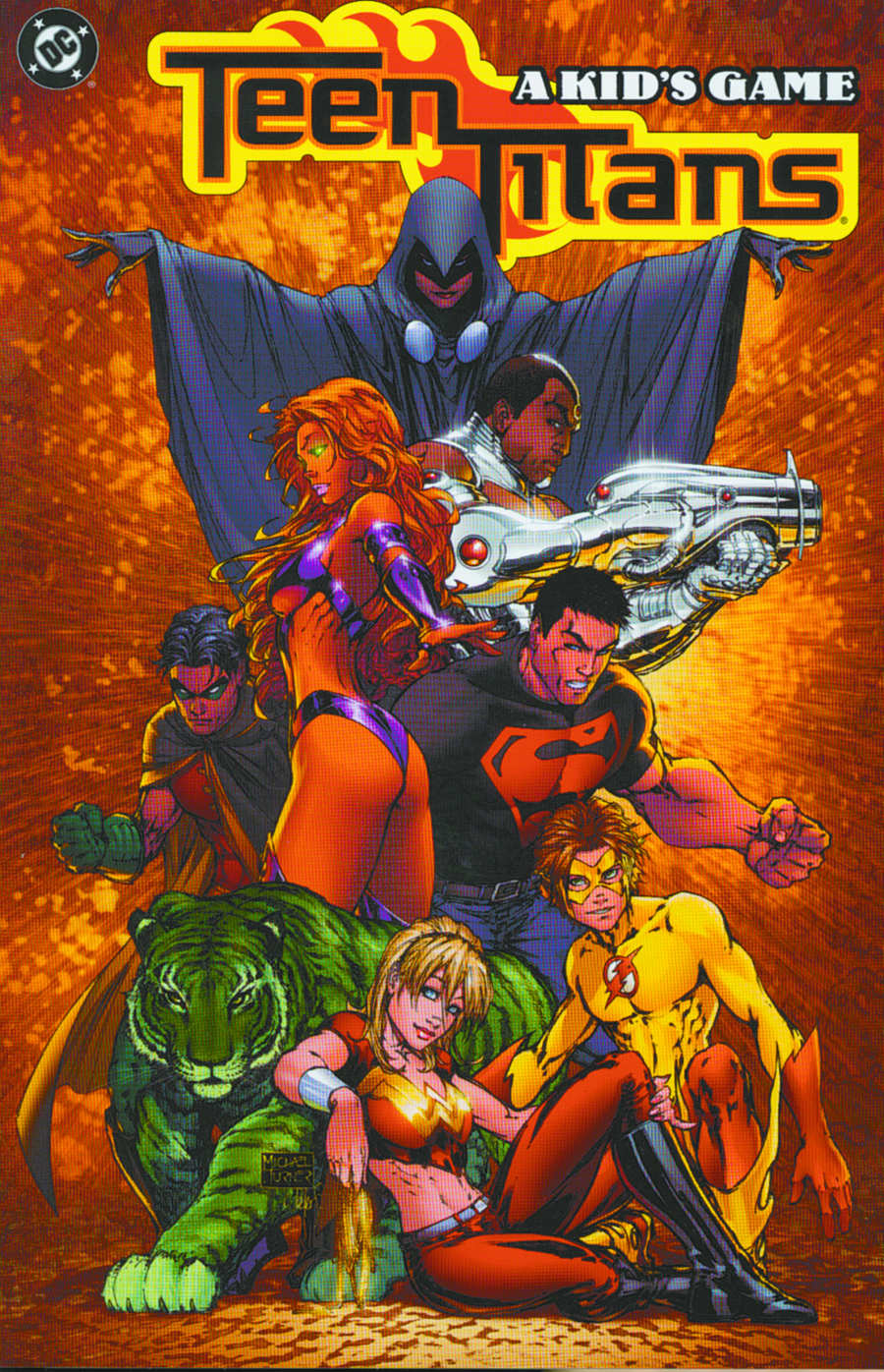 You are currently viewing From a Library: Teen Titans A Kid's Game