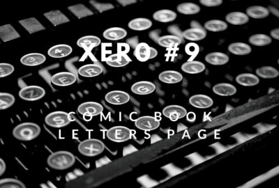 Letters Page: Xero #9