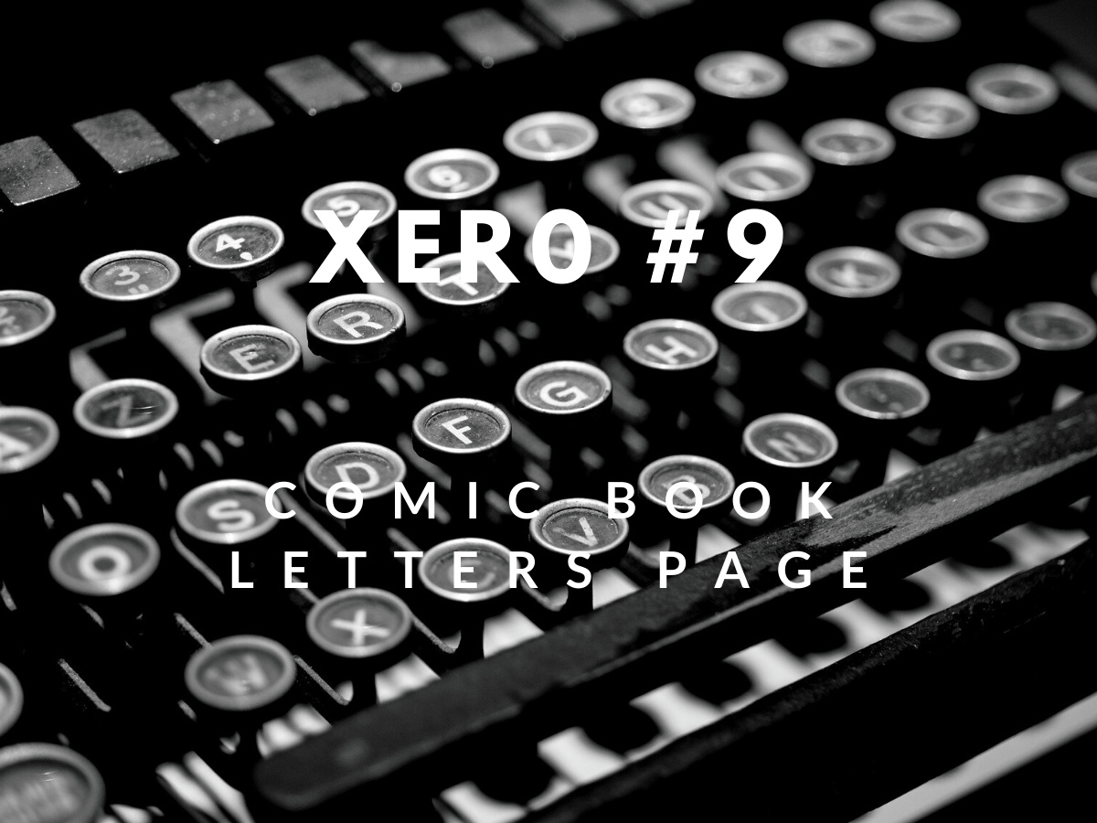 You are currently viewing My printed letters of comment – XERØ #9