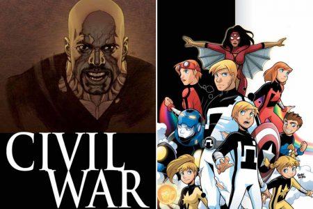 Marvel solicitations for July