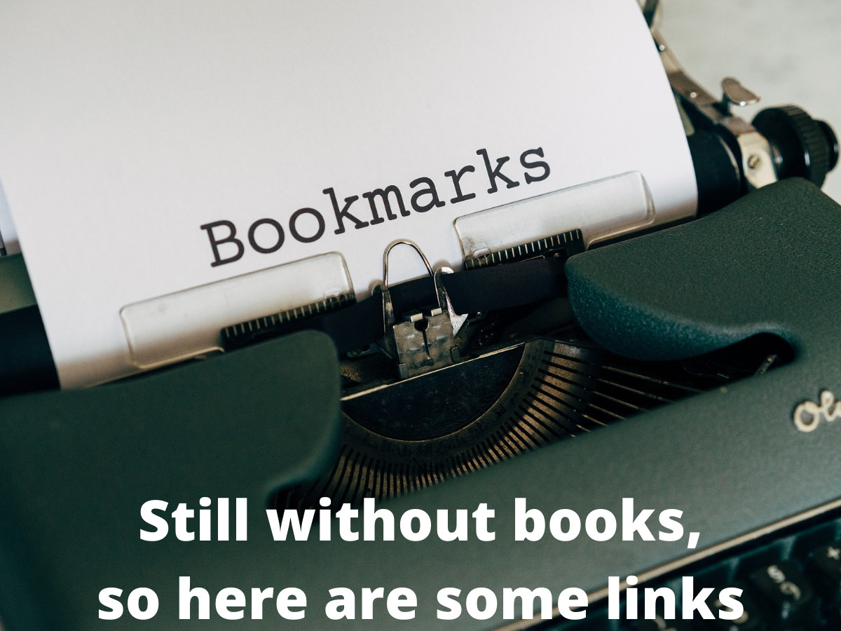 You are currently viewing Still without books, so here are some links