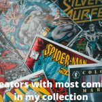 Creator with most comics in my collection