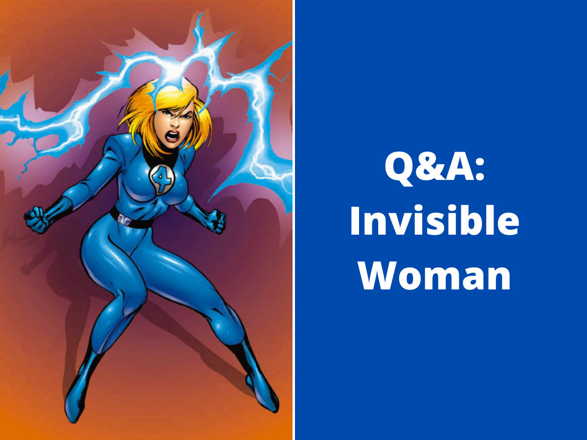 You are currently viewing Q&A: Invisible Woman