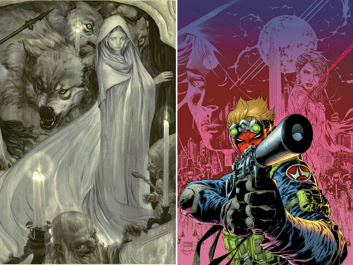 DC Solicitations and Other Comics Business