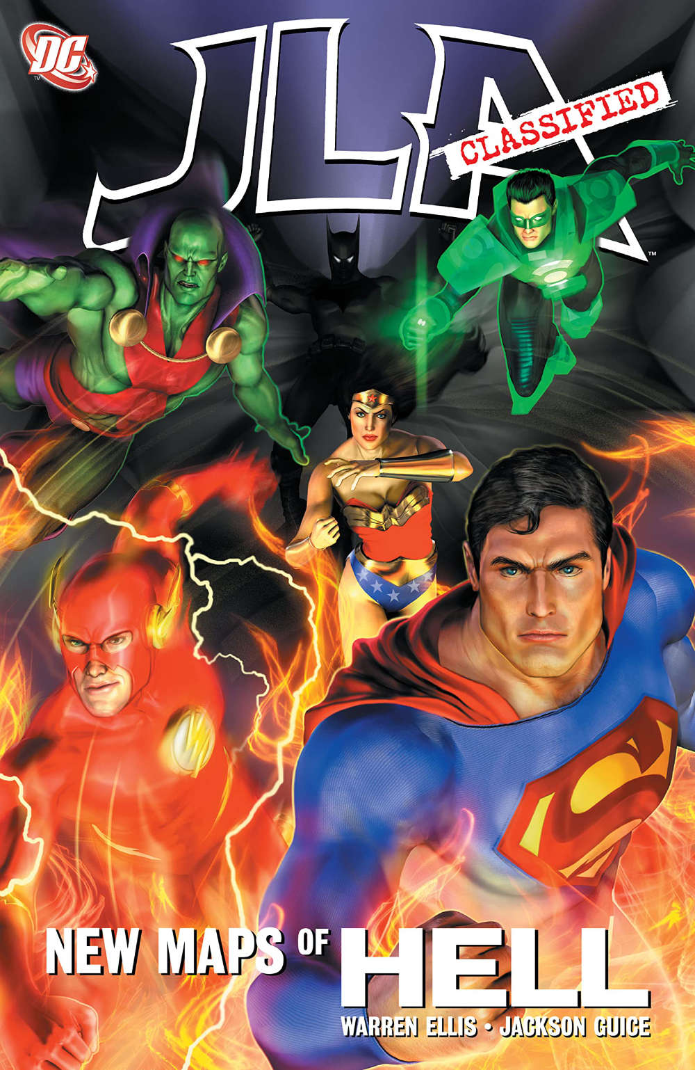 Read more about the article Comic Review – JLA Classified: New Maps of Hell