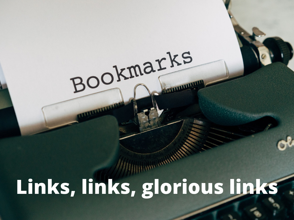 You are currently viewing Links. Links. Glorious Links