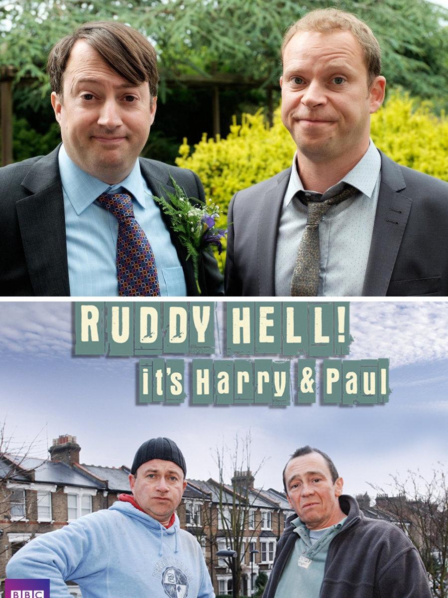 TV Round-Up: Peep Show, Get A Grip, Harry & Paul