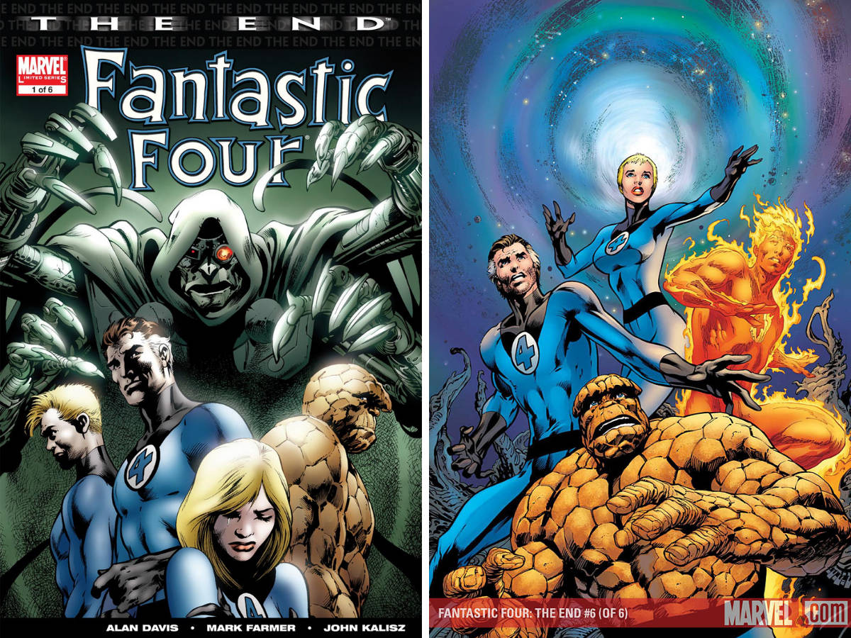 Read more about the article Comic Review – Fantastic Four: The End