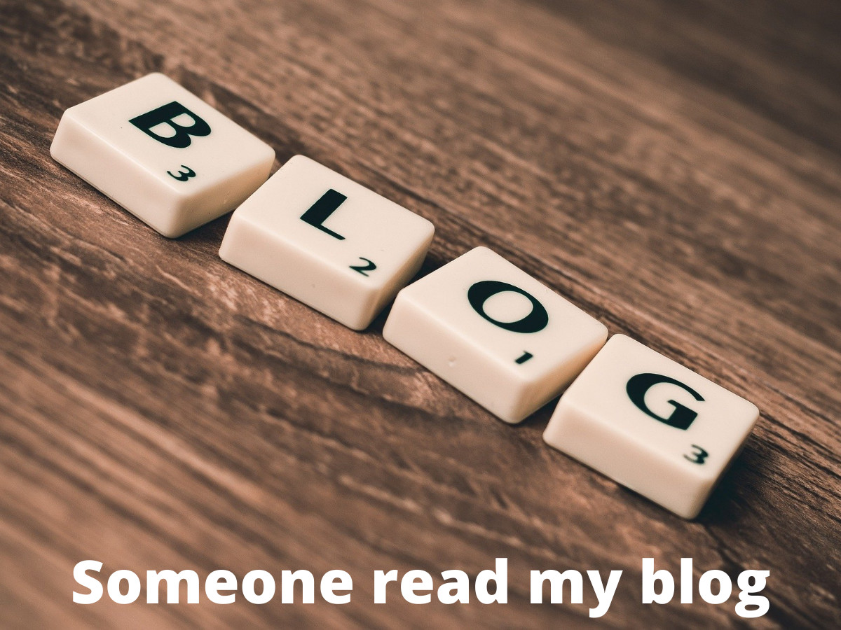 Read more about the article Somebody Read My Blog