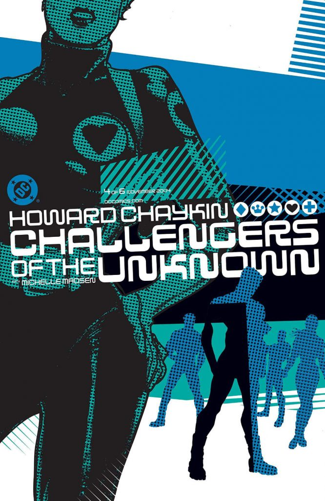 Challengers of the Unknown #4 by Howard Chaykin