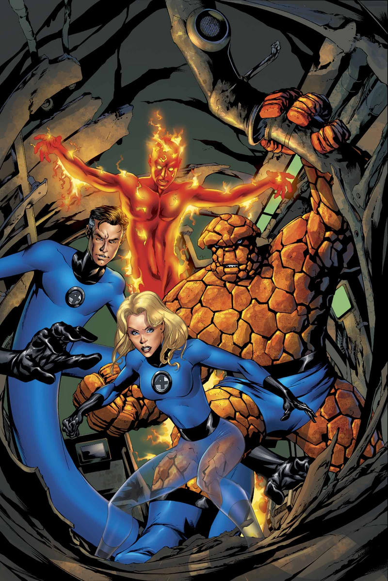 Read more about the article From A Library: Fantastic Four by JMS