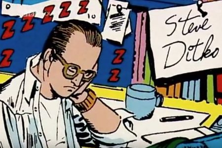 Comics/Television: In Search of Steve Ditko