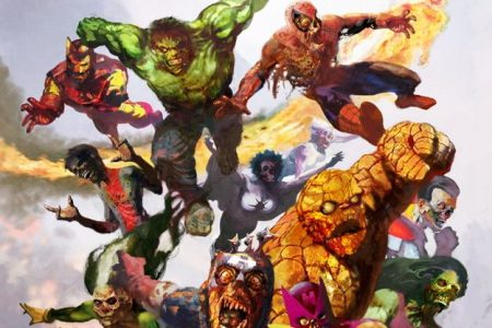 From A Library: Marvel Zombies