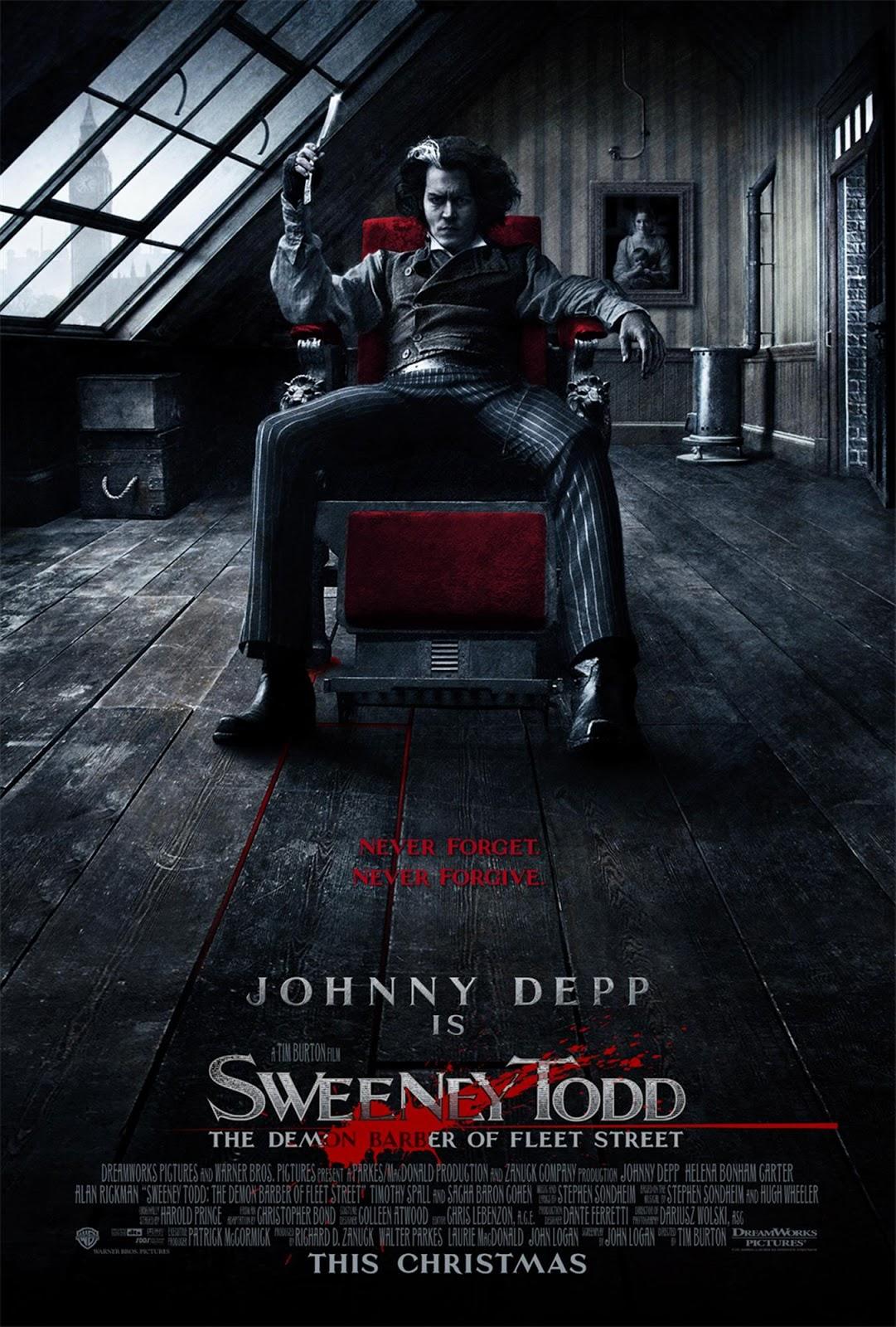 Film Review – Sweeney Todd: Demon Barber of Fleet Street