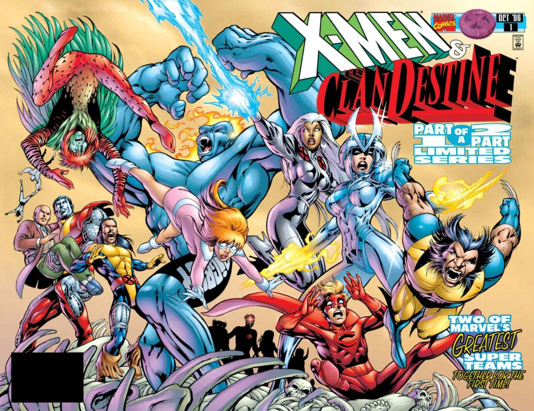 X-Men and the ClanDestine #1 cover