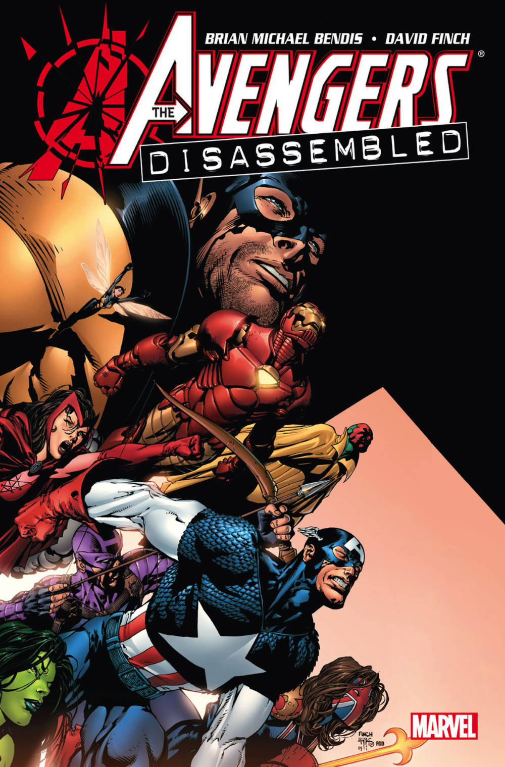 From A Library – Avengers: Disassembled