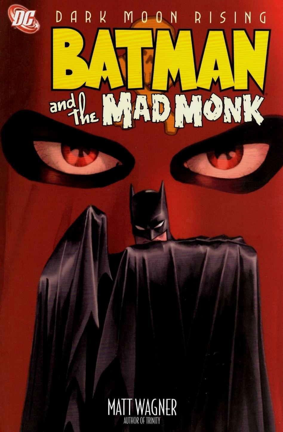 Batman and the Mad Monk cover