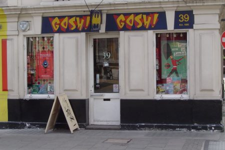 Comic Book Shops: Gosh! (Number 1 in a Series)