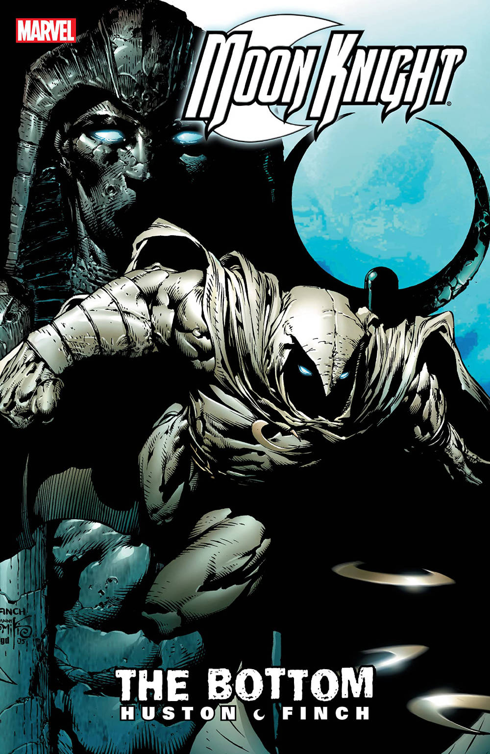 Moon Knight: The Bottom cover