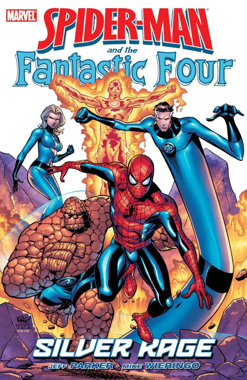 Read more about the article Comic Book Review – Spider-Man and the Fantastic Four: Silver Rage