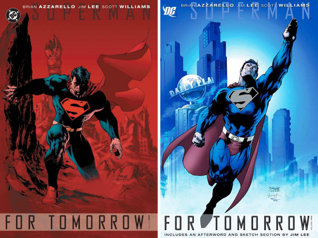 Superman: For Tomorrow volumes 1 and 2