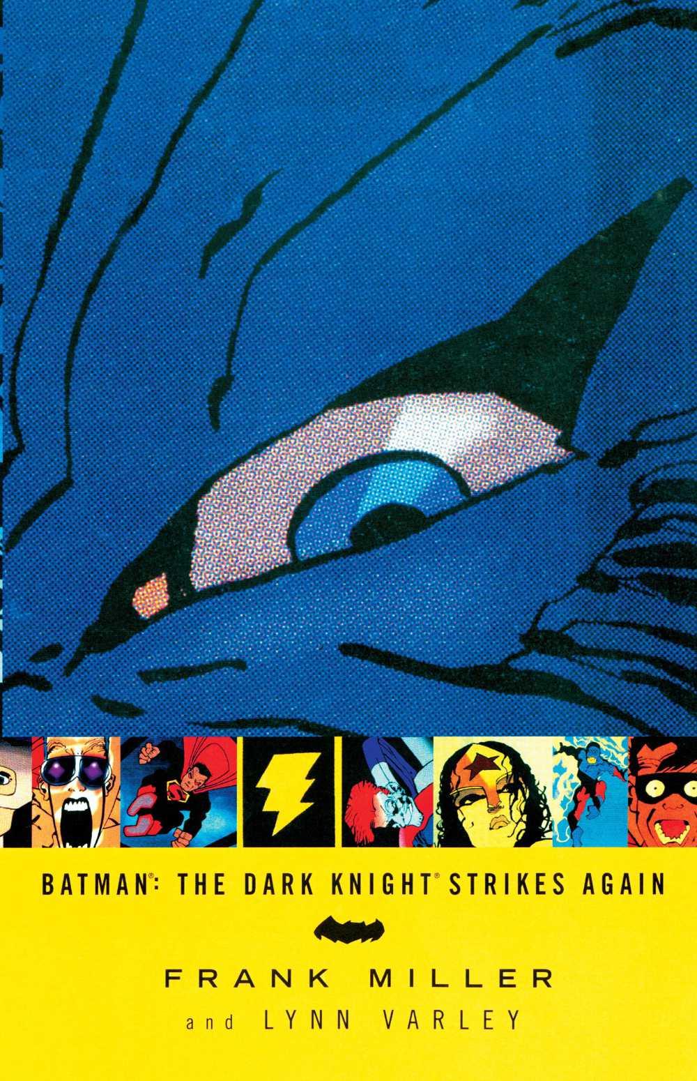 Batman: The Dark Knight Strikes Again cover