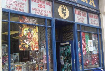 Comicana comic book shop