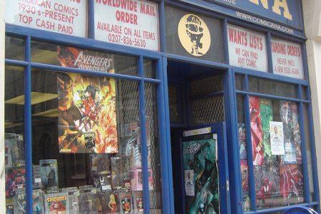 Comic Book Shops: Comicana (Number 3 In A Series)