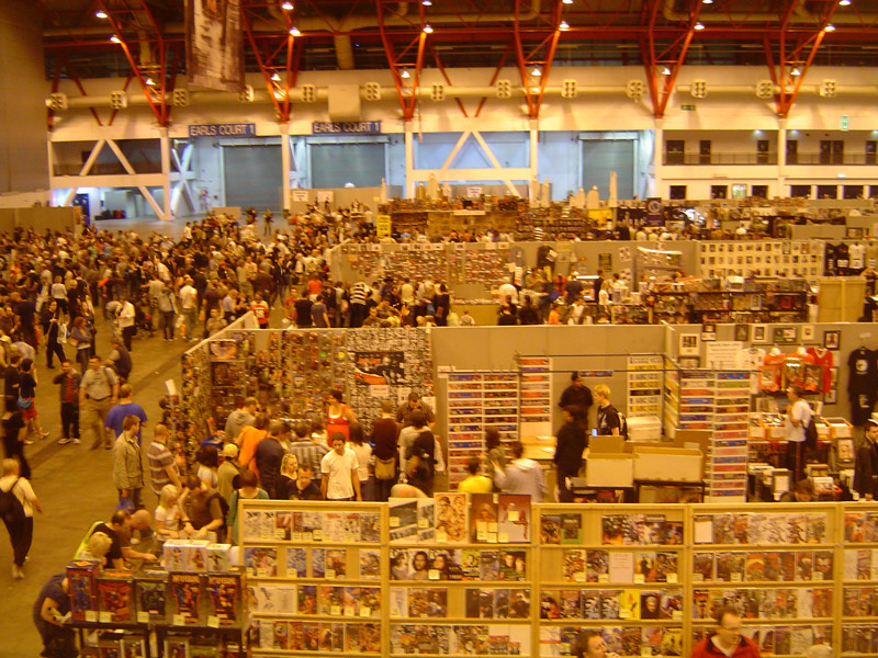 London Film and Comic Con middle view