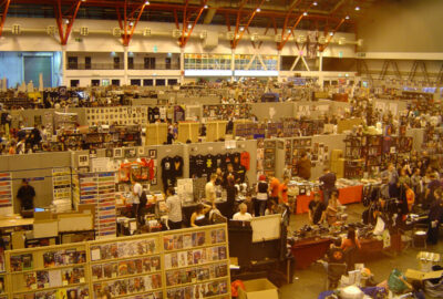 London Film and Comic Con right-hand floor