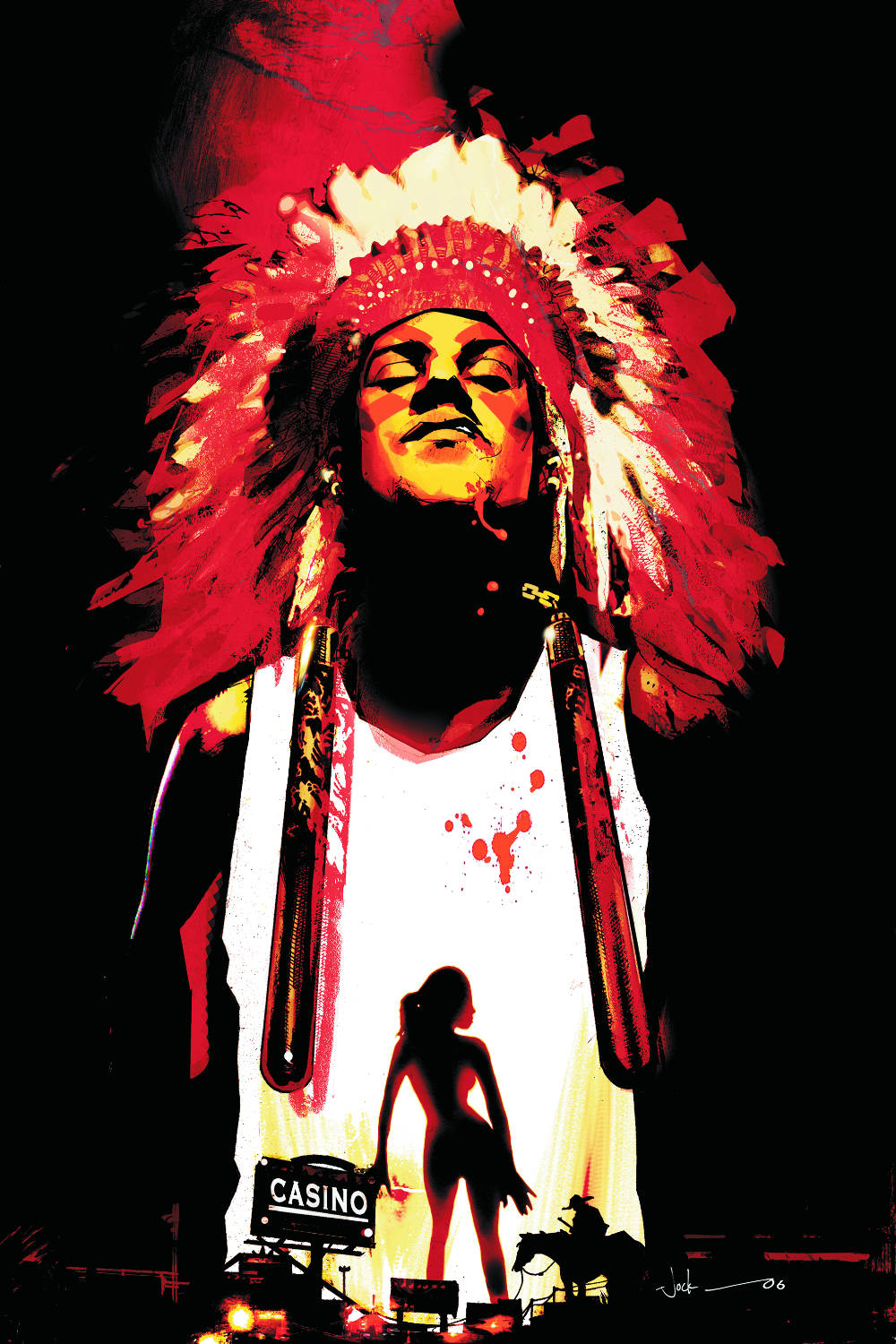 Read more about the article From A Library – Scalped: Indian Country