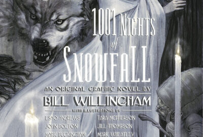 Fables: 1000 Nights of Snowfall cover