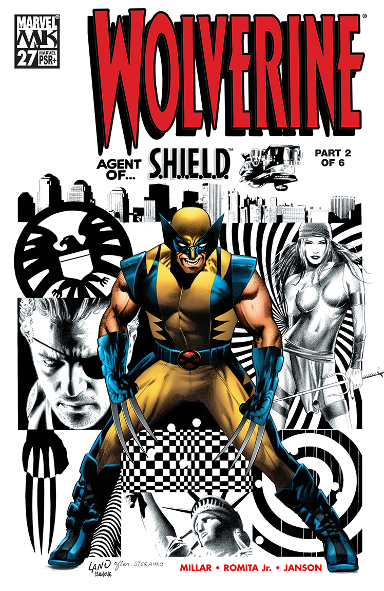 From A Library – Wolverine: Agent of SHIELD