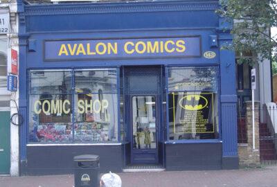 Avalon Comics shop
