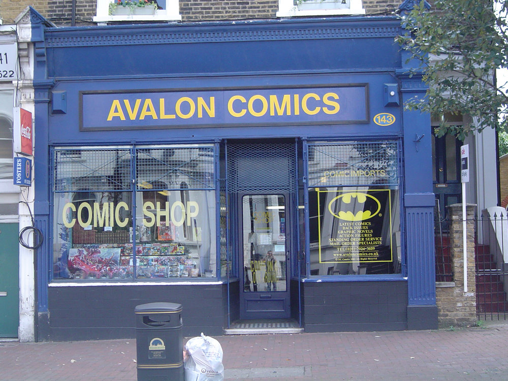 Avalon Comics shop