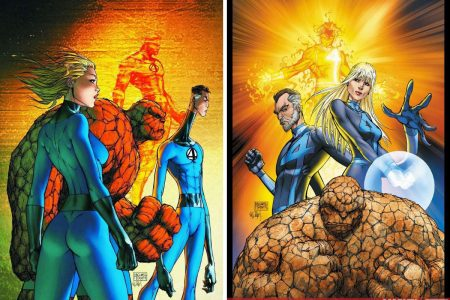 From A Library – Fantastic Four: The Beginning of The End and The New Fantastic Four