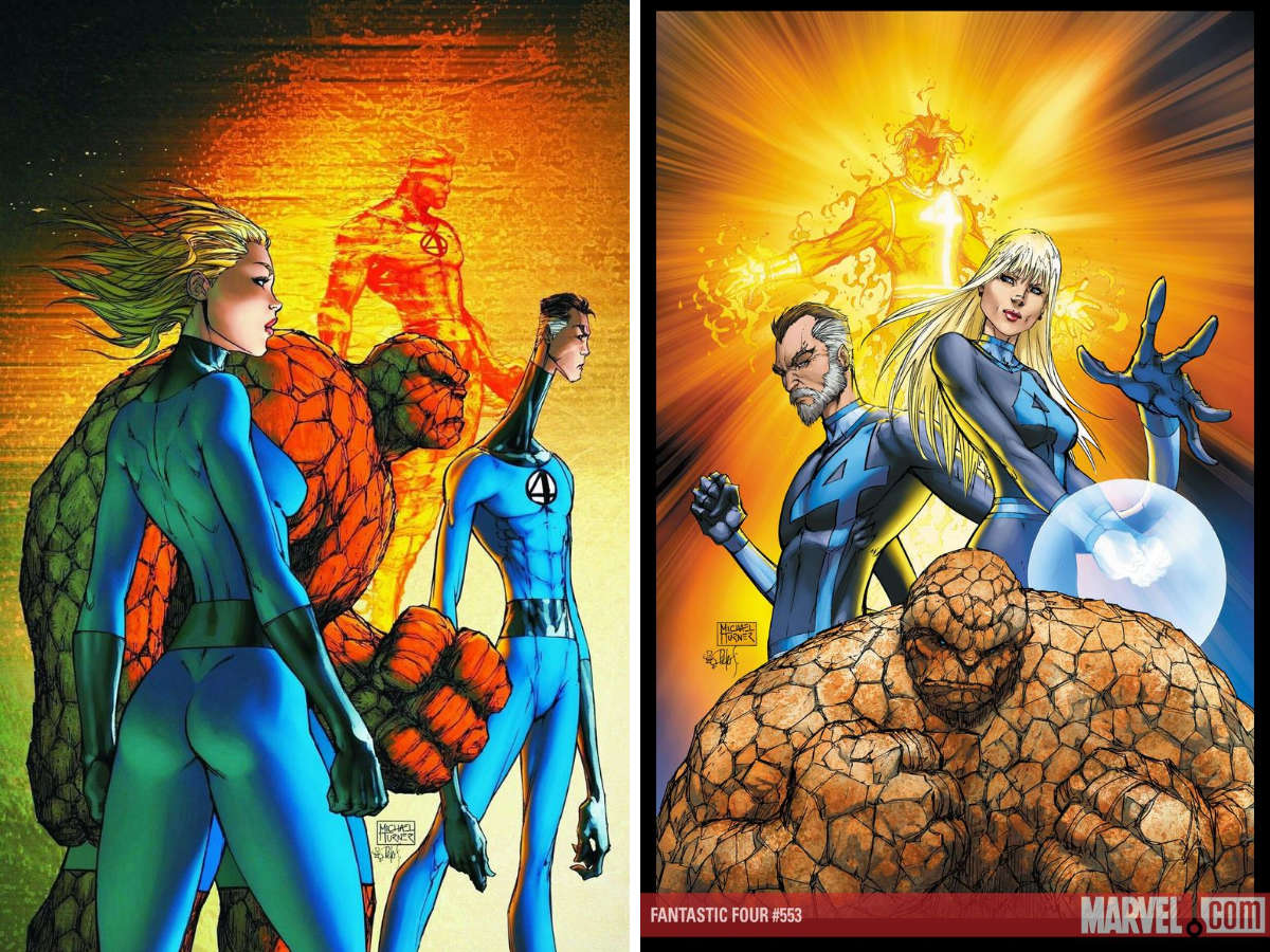 Read more about the article From A Library – Fantastic Four: The Beginning of The End and The New Fantastic Four