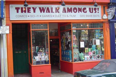 Comic Book Shops: They Walk Among Us (Number 5 In A Series)