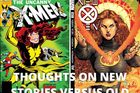 Thoughts On New Stories Versus Old