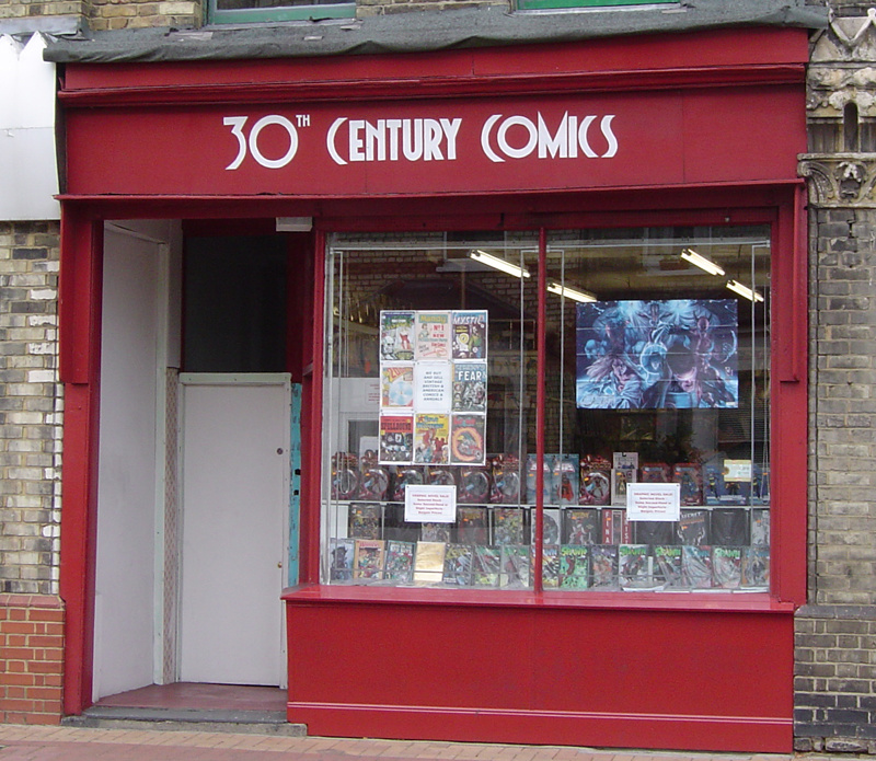 You are currently viewing Comic Book Shops: 30th Century Comics (Number 7 In A Series)
